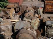 Электродвигатель б/у, сгоревшие, списанные Электродвигатели 83432024262
