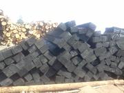 Продам шпалы деревянные пропитанные 1и2 типа Гост 78-2004,   брус перев
