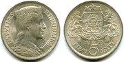 продам монету Латвия 5 лат 1929
