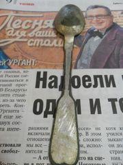 Польская ложка ,  производитель (galw n fraget,  с гербом Российской Имп