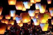 небесные фонарики желаний