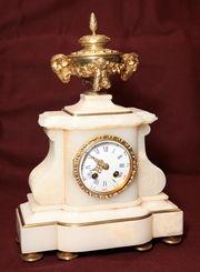 Старинные каминные часы Франция 19 век.