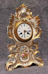 Старинные настольные часы Франция 18 век.