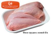 Виды продукции: полуфабрикаты - бедро,  голень,  грудка,  крыло,  филе