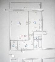 однокомнатную квартиру в Пионерском районе за 2990 000р.