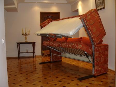Двухъярусная кровать с диваном внизу  спб