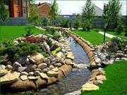 Ландшафтный дизайн,  услуги садовника