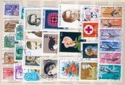 Коллекцию марок отдам даром