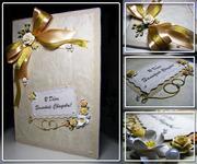Открытки,  пригласительные,  подарочные конверты ручной работы