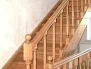 Изготовление и монтаж лестниц из массива