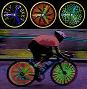 Светодиодная беспроводная велоподсветка