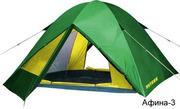 Палатки туристические ПУТНИК (новые)