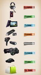 Дешево Планшеты,  плееры,  наушники,  камеры и гаджеты