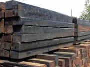 Шпалы деревянные пропитанные ГОСТ 78-2004