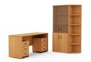 Офисная мебель - столы,  тумбы,  шкафы