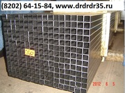 труба 20 20 оцинкованная и х/к,  стенки 0, 7-1, 5 мм