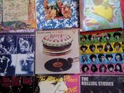 Виниловые пластинки производства Японии