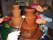 Шоколадный фонтан в Екатеринбурге