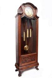 Старинные четвертные напольные часы Германия нач. ХХ века