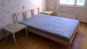 Двуспальная кровать + стеллаж