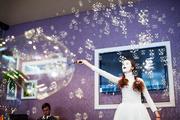 Шоу Свадебных мимов с Гигантскими мыльными пузырями