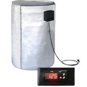 Полностью покрывающий и изолирующий поверхность нагреватель для металл