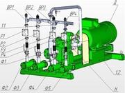 УСБ-60.3 Установка для получения зимнего дизельного топлива из летнего