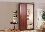 Продам шкаф-купе, со стильным фасадами дверей