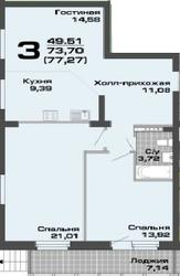 Продается квартира в Верхней Пышме