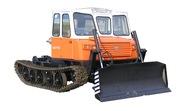 Шасси трелевочного трактора МСН-10. Трехместная кабина. Новая модель.