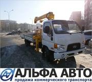 Hyundai HD 78 Бортовой с кму Soosan SKS334