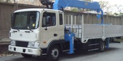 Hyundai HD 120 бортовой с кму Kanglim KS-1056