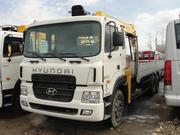 Hyundai HD 250 борт с КМУ Soosan SKS 1015 LS