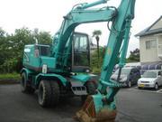 Продается колесный экскаватор Kobelco SK125W-3 2006год 0, 51куба ковш