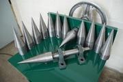 Производство дровоколов,  конусов для дровоколов и комплектующих.