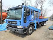 Продам грузовик с манипулятором и люлькой Daewoo Novus 2014 год .