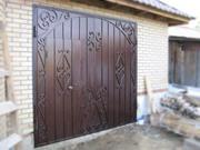 Ворота гаражные изготовление и установка