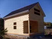 Дом из бруса двухэтажный