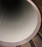 Внутреннее антикор обработка стальных труб эпоксидной эмалью.