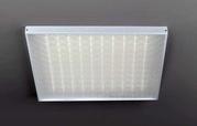Офисный светодиодный светильник универсальный монтаж накладной и встра