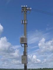 трансформаторные подстанции столбового исполнения (КТПС)