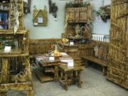 Мебель с  эффектом старения для баньки
