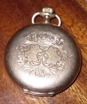 Часы карманные золотые антикварные Henry Moser