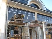 Витражи алюминиевые . фасадное остекление.панорамное ;  ремонт,  монтаж,  изготовление