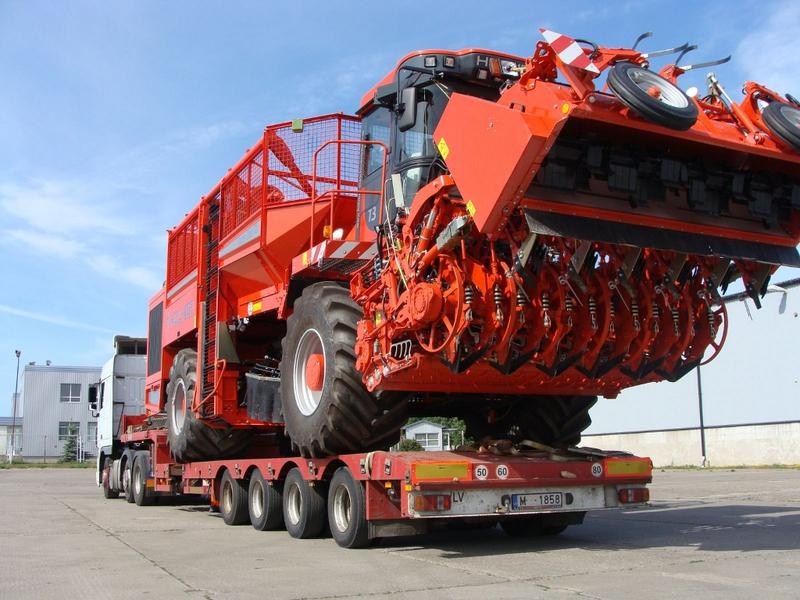 обеспечение качества перевозок негабаритных грузов