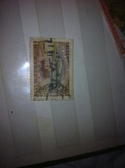Марки почтовые 1958, 1963 года