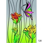 Межкомнатные и межофисные перегородки из витражного стекла