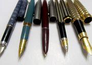 Перьевые чернильные ручки из СССР коллекция