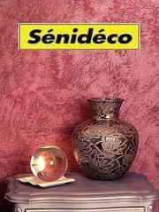 Декоративные штукатурки и краски французской марки Senideco