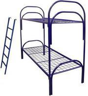 Двухъярусные металлические кровати,  кровати для общежитий оптом. 750 р